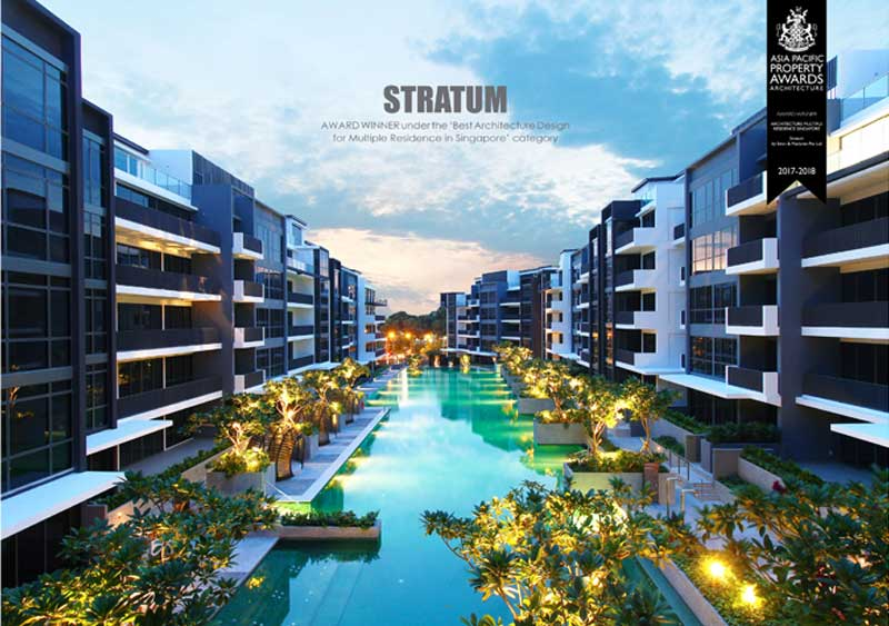 Stratum - Asia Pacific Property Awards 2017 - 2018